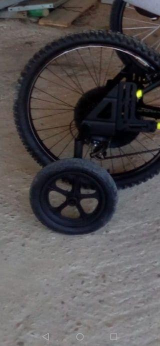 ruedines para bici de 26 pulgadas