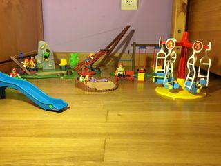 Playmobil parque de atracciones