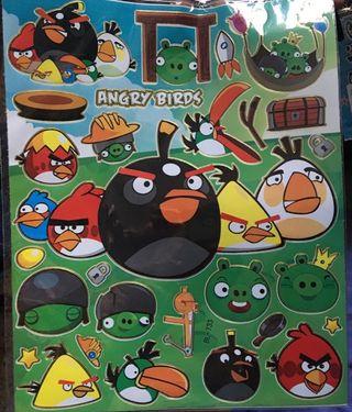 Pegatinas Angry Birds Stickers
