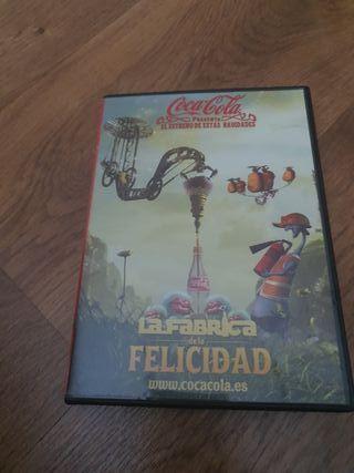 Dvd Coca cola fábrica de la felicidad