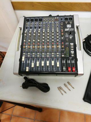 mesa de mezclas LD SYSTEMS LAX 12DA
