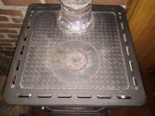 estufa cocina de leña calefactable Edilkamin