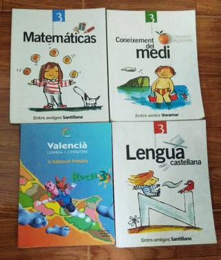 Libros 3° primaria