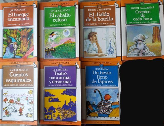7 libros juveniles