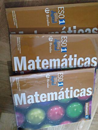 Libros matemática 1 ESO