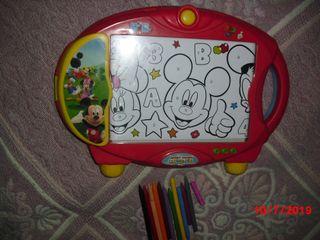 Pizarra proyectora Mickey para dibujar los persona