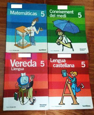 Libros 5° primaria