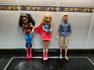 Wonderwoman /Superwoman / Ken