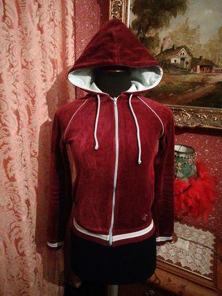 Sudadera chándal chaqueta cazadora ZARA talla S