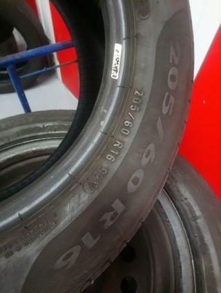 1 neumático 205/ 60 R16 92V Pirelli +70%