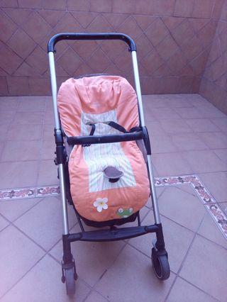 Carro de bebé, capazo y grupo cero