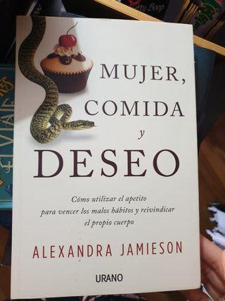 libro mujer, comida y deseo