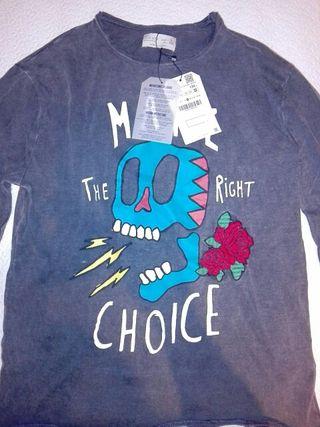 Camiseta niño Zara sin usar