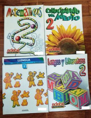 Libros 2° primaria