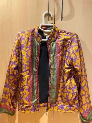 Cazadora colorida con interior lana
