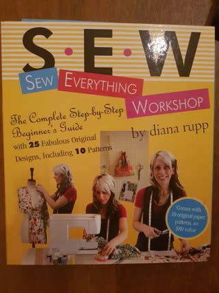 libro costura SEW EVERYTHING WORKSHOP