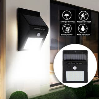 Luz LED con placa Solar y sensor de movimiento