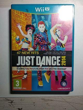 Videojuego Just Dance 2014 Wii U