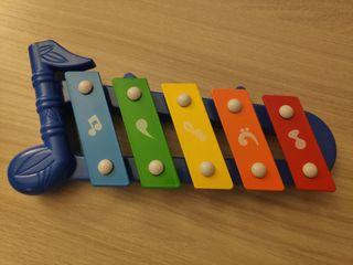 Xilófono de juguete