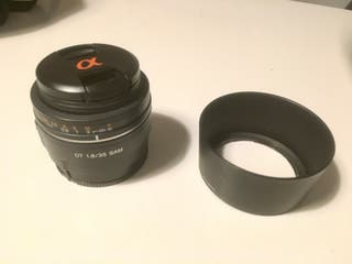 Objetivo para Sony Alfa DT 1.8/35 SAM 55mm