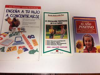 Lote libros de educación infantil