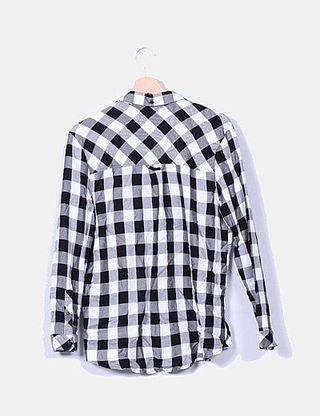 Camisa cuadros Bershka