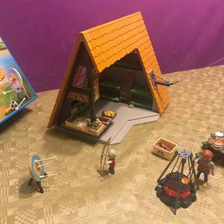 Playmobil campamento de verano 6887