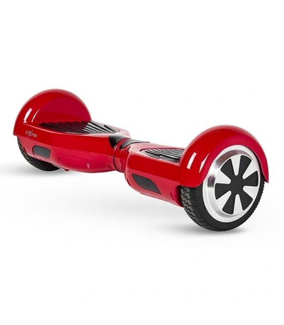 "Hoverboard 6.5"" Color Rojo Con Bluetooth, Altavoz"