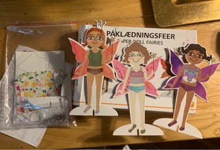 Muñecas de cartón, kit