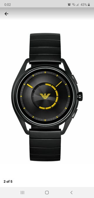 reloj Emporio Armani smartwatch
