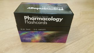 Rang and Dale's Pharmacology Flash Cards