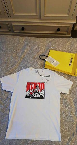 Mens Kenzo tiger mountain slim T-shirt