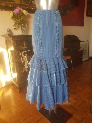 falda de gitana,flamenca o rociera