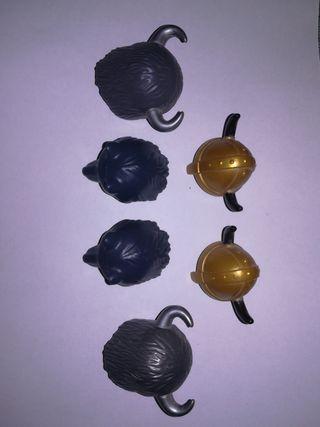 Playmobil mini lote cascos