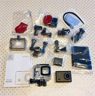 cámara de acción victure ac900
