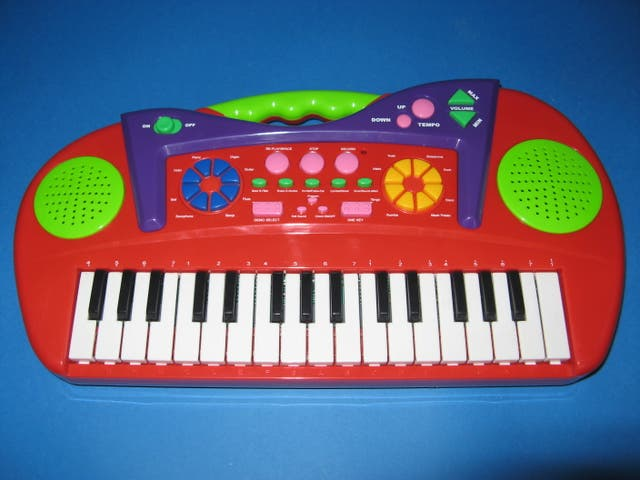 Mini órgano electrónico.