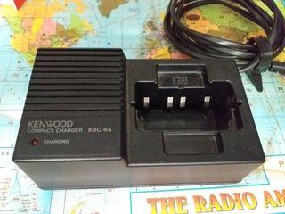cargador walkie kenwood ksc-8