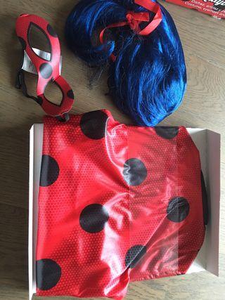 Disfressa Ladybug NOVA a estrenar 9-10 anys