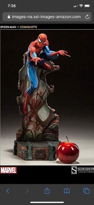Figura Spiderman Sideshow Comiquette