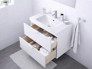 mueble y lavabo ikea