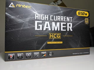 Fuente de alimentación Antec HCG 650W Modular