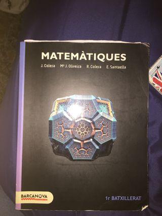 Libro de matemáticas 1r BATcientífico-tecnologico
