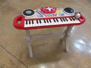 órgano niños, con música y acompañamientos