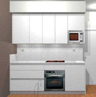 Cocina nueva diseño (TODA 2500) NO IKEA