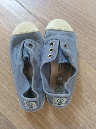 Zapatillas niño/a algodón orgánico