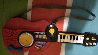 Guitarra convertible en teclado para niñ@s