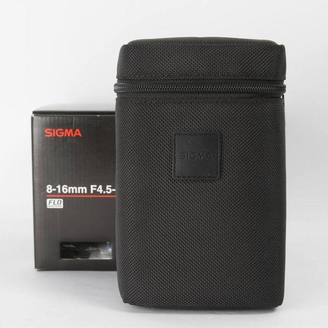 OBJETIVO SIGMA DC 8-16MM F/4.5-5.6 HSM E336691