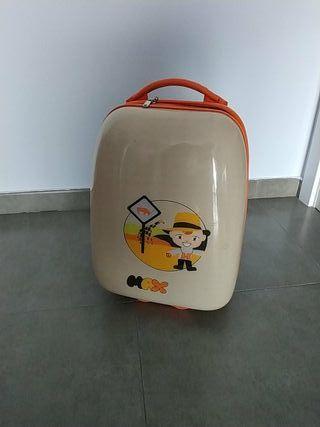 maleta trolley infantil