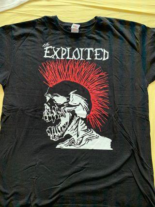 Camiseta Exploited XL