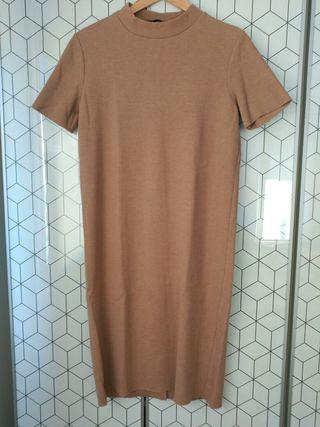 Vestido punto de Zara Talla S